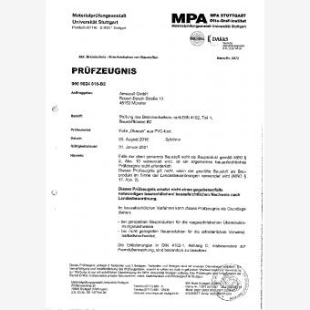 Klassifizierungsbericht Okapak Folie B2