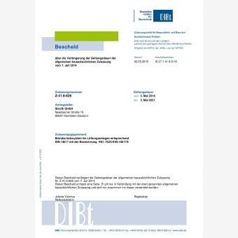 Lüftungsanlage nach DIN 18017-3 - Airoset
