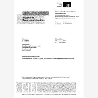 Promatect Schachtelement / F90 Bekleidung von Abgasanlagen